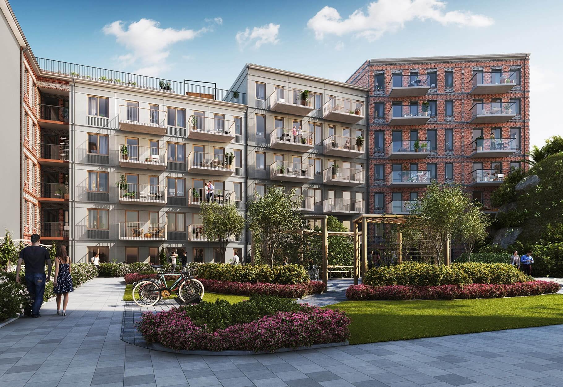 200 nya bostäder